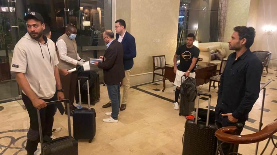 وصول الوفد الثالث من بعثة الزمالك إلى كينيا