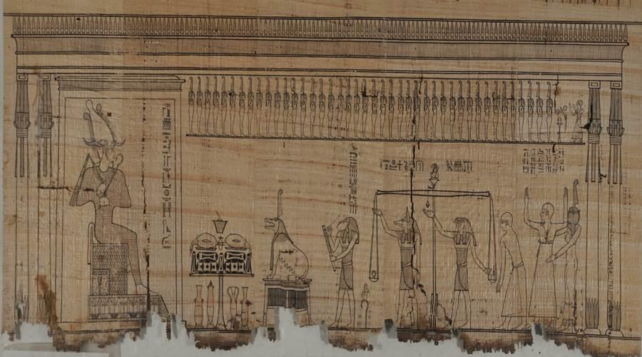 مشهد المحاكمة بالقاعة 19 بالمتحف المصرى