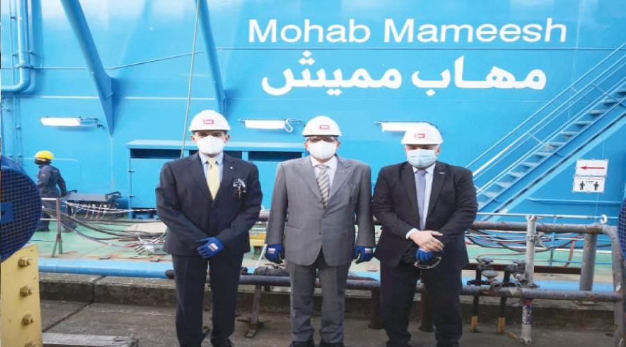 الكراكة مهاب مميش أحدث الكراكات المنضمة لأسطول قناة السويس