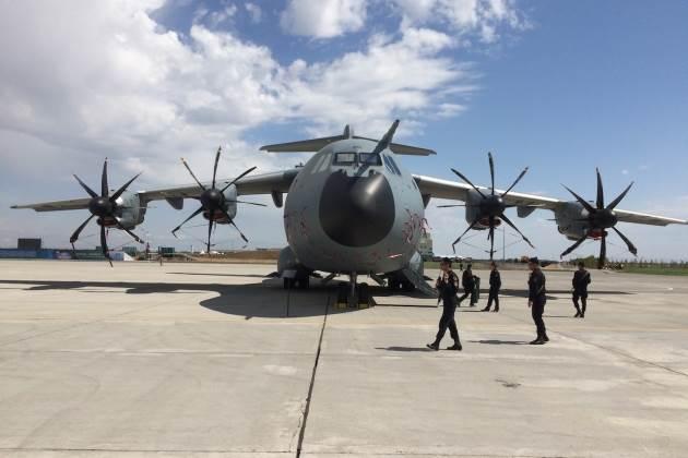 طائرة نقل عسكرية تركية