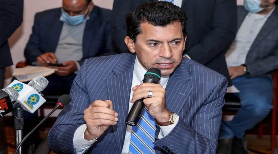 د. أشرف صبحي وزير الشباب والرياضة