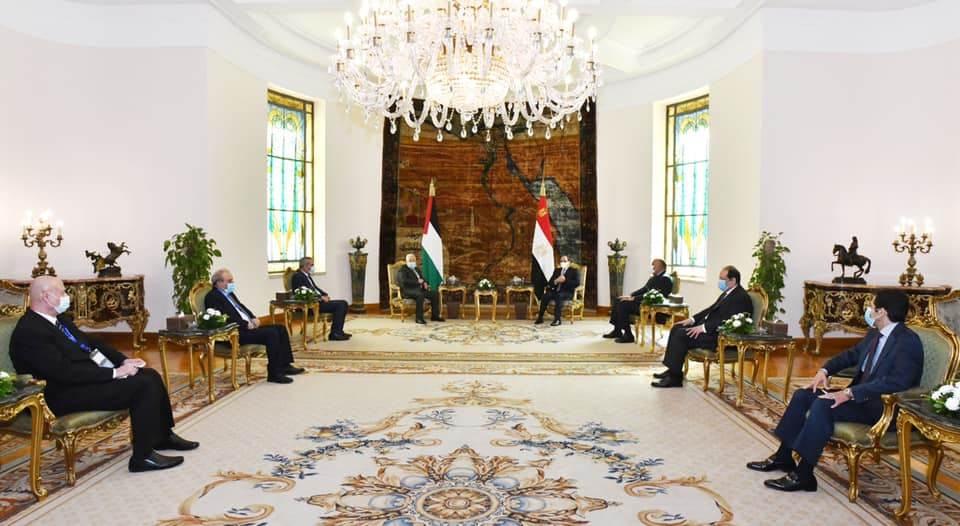 اللقاء المصري الفلسطيني