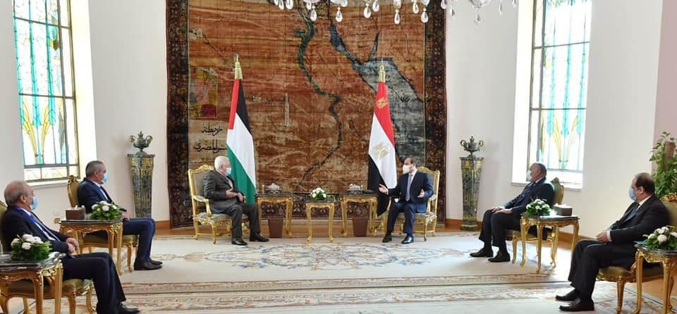 لقاء مصري فلسطيني بالقاهرة
