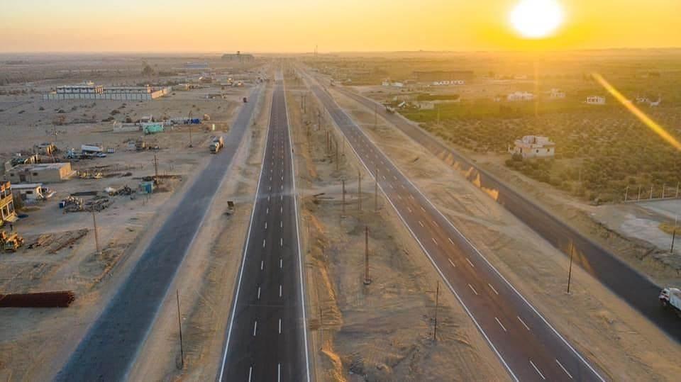 شق الطريق يفتح أبواب التنمية في الصعيد