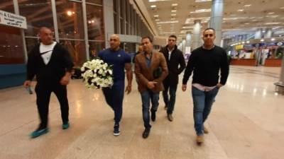 مدرب بيج رامي يصل القاهرة