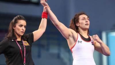سمر حمزة تحصد فضية بطولة روما الدولية للمصارعة