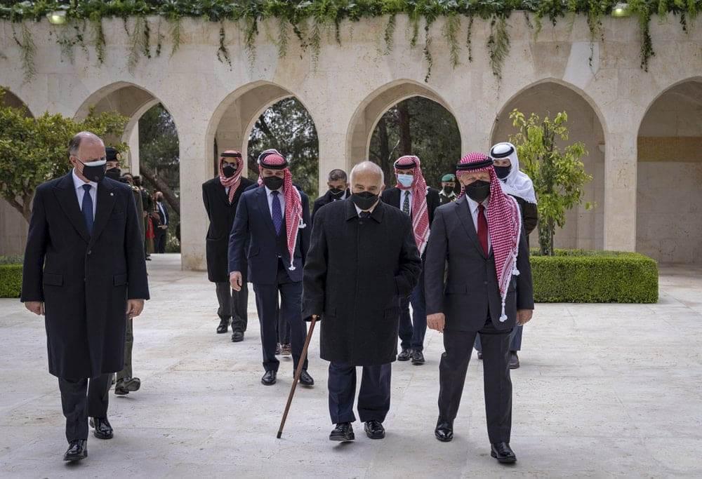 الملك عبدالله والأسرة الهاشمية