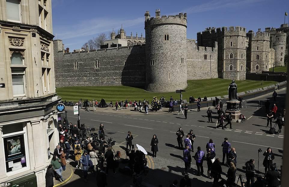 قلعة وندسنور حي ث نعش الأمير
