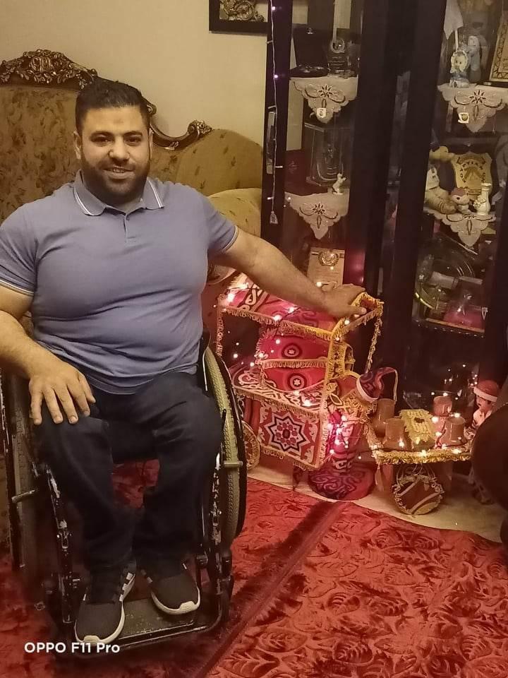 هاني محسن بطل رفع الأثقال البارالمبي